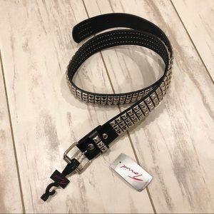 NWT TORRID | Black Studded Belt Size 1